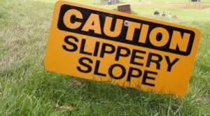 slipper slope