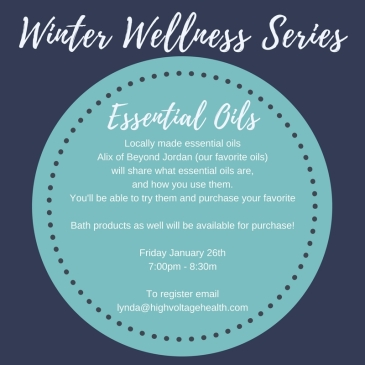 Winter Wellness Series Oils
