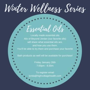 Winter Wellness Series Oils