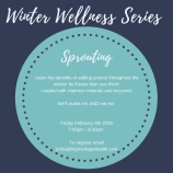 Winter Wellness Series Sprouting